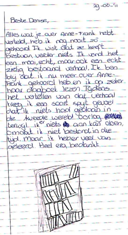 Citaten Uit Dagboek Anne Frank : Denise de costa